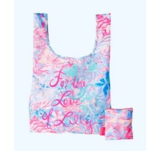 Lilly Pulitzer gwp packable bag